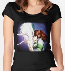 Spirited Away - Chihiro & Haku Women's Fitted Scoop T-Shirt