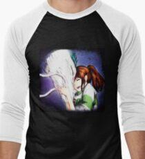 Spirited Away - Chihiro & Haku Men's Baseball ¾ T-Shirt