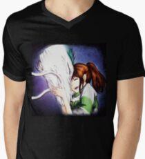 Spirited Away - Chihiro & Haku Men's V-Neck T-Shirt