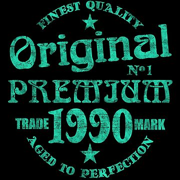 1990 Vintage birthday by S-p-a-c-e