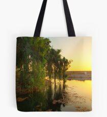 Morning Light - Baghdad Sunrise Tote Bag