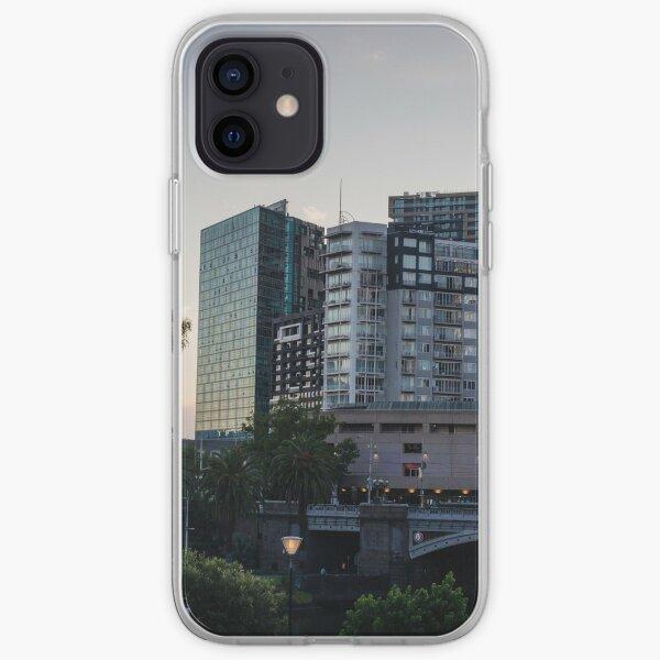 Princes Bridge Melbourne iPhone Soft Case