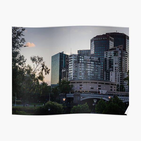 Princes Bridge Melbourne Poster
