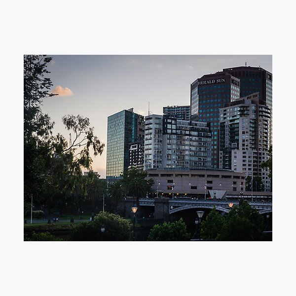 Princes Bridge Melbourne Photographic Print