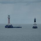 One Fathom Bank Lighthouse by GedTKirk