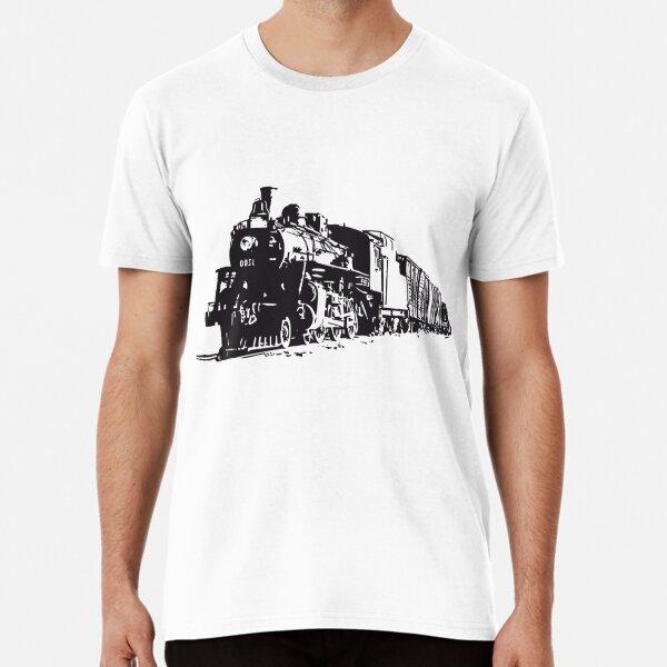Tren locomotora Premium T-Shirt