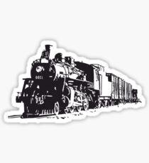 Tren locomotora Sticker