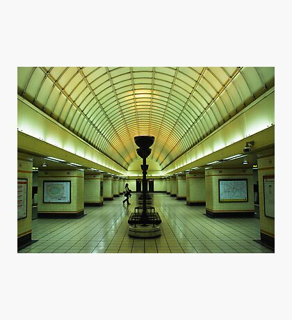 the red line Photographic Print