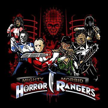 MORBID HORROR RANGERS - Best in Black or Navy by MelanixStyles