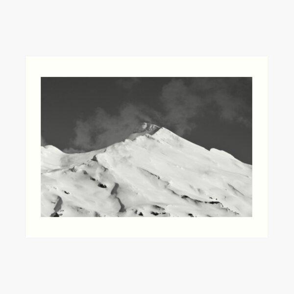 Mount Ruapehu Art Print