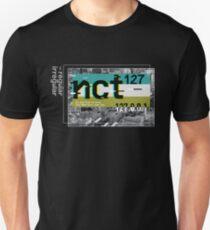 NCT 127 regular-irregular BLACK background Unisex T-Shirt