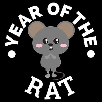 Chinese Zodiacs Year of the Rat 2 Cute - Gift Idea by vicoli-shirts