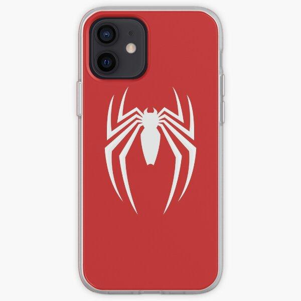 Araña blanca Funda blanda para iPhone