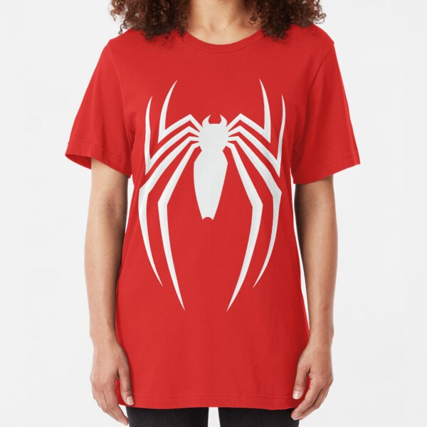 White Spider Slim Fit T-Shirt