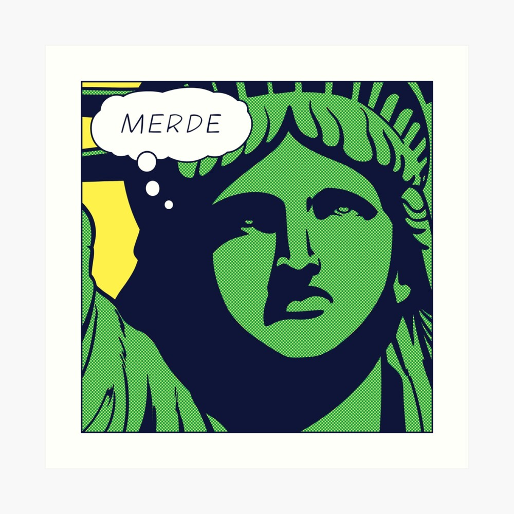 Pop-Freiheit Kunstdruck