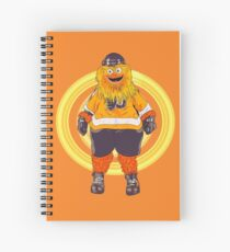 Gritty  the flyers mascot Spiral Notebook