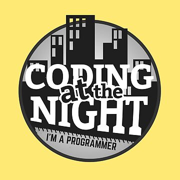 Programmer : Coding at the night by mbiymbiy