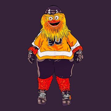 The mascot Gritty of the Flyers by MimieTrouvetou