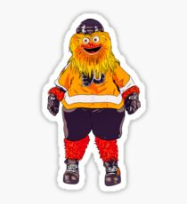 The mascot Gritty of the Flyers Sticker