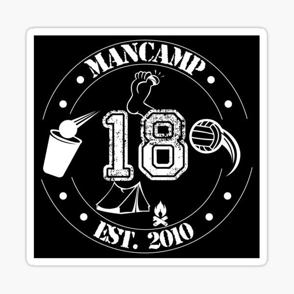MANCAMP '18 Sticker