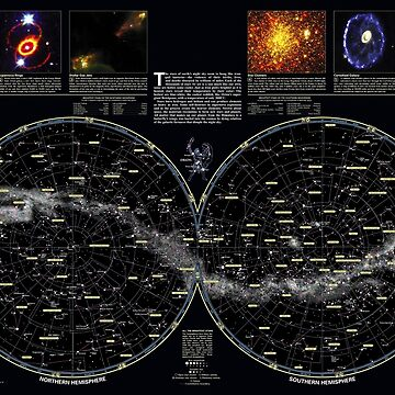 Complete constellation map  ⛔ HQ quality by MichailoAvilov