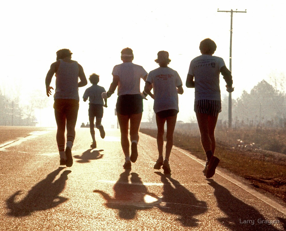 Morning Run by Larry  Grayam