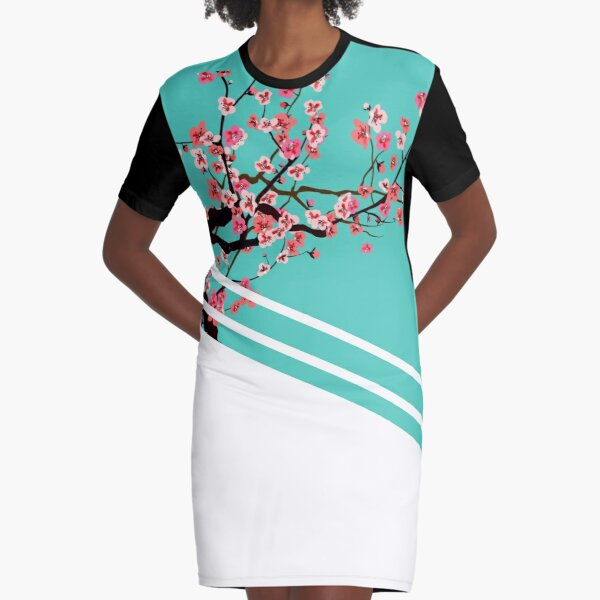 Arizona Vaporlines Big Graphic T-Shirt Dress
