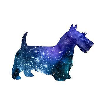 Scottish Terrier by GwendolynFrost