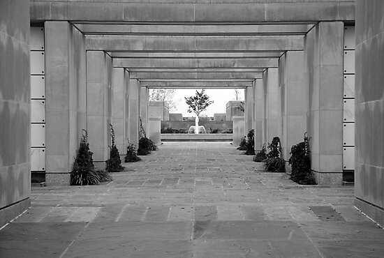 A Columbarium in Arlington by Cora Wandel
