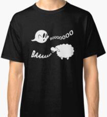 Ghost vs Sheep (Cute Halloween Ghost) Classic T-Shirt