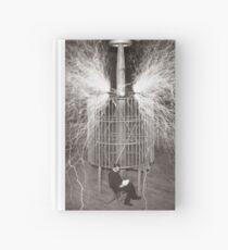 Tesla In Study Hardcover Journal