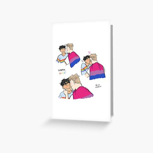 Nick and Charlie - Happy Pride Greeting Card