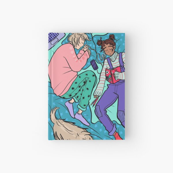 Frances and Aled - Nap Time Hardcover Journal