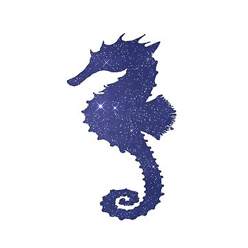 Seahorse Silhouette by GwendolynFrost