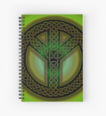 Celtic Knot of Peace Spiral Notebook