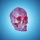Skeleton and floral pattern by jsebouvi