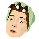 Coronation Street - Hilda Ogden by gregs-celeb-art