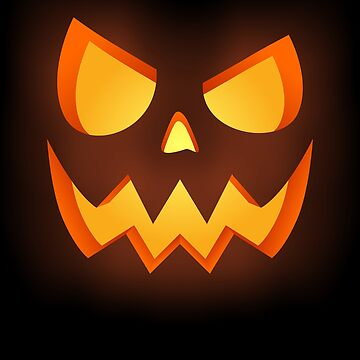 Scary Pumpkin Face by VomHaus