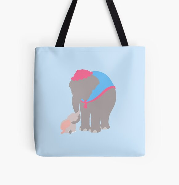 Mother and Baby All Over Print Tote Bag