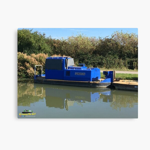Canal and River Trust workboat Canvas Print