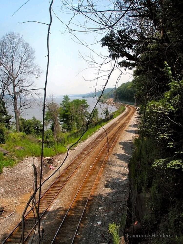 Metro North Tracks by Lawrence Henderson
