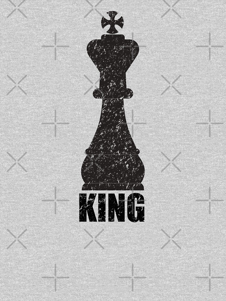 Chess Design - Chess Piece King by kudostees