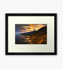Qualar's Sun Framed Print