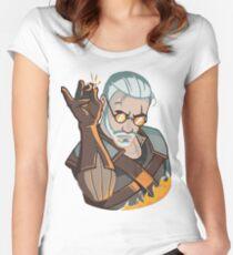 Salz Bae Geralt Tailliertes Rundhals-Shirt