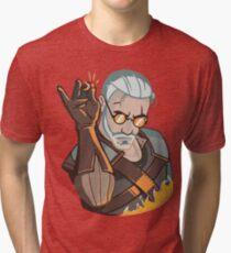 Salt Bae Geralt Tri-blend T-Shirt