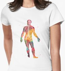 Nervous system Women's Fitted T-Shirt