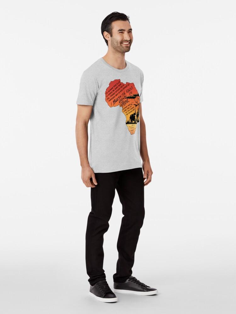 "Alternate view of ""Africa"" Premium T-Shirt"