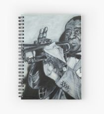 Louis Armstrong, 1953 Spiral Notebook