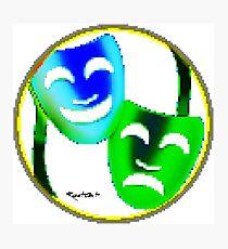 Art of Mask 91 Photographic Print