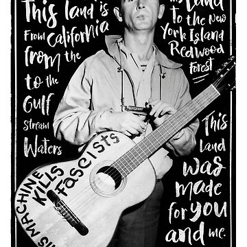 Woody Guthrie - this land is your land by MoSt90